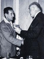 Françis AUGIER et M.GRATECOS