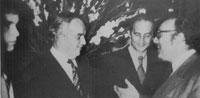 Le Prince Rainier, Georges BERTELOTTI, et Bob REMOND